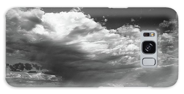 Clouds Along Indian Route 13 Galaxy Case by Monte Stevens