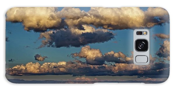 Clouds And Red Rocks Hdr Galaxy Case