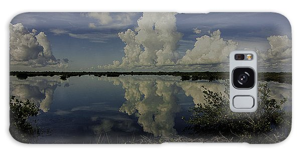 Clouds And Reflections Galaxy Case