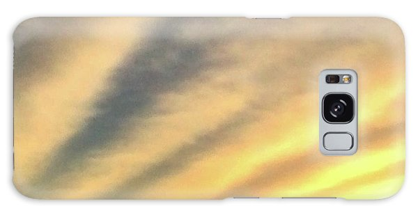 Clouds And Sun Galaxy Case by Sumoflam Photography
