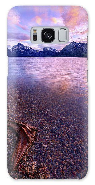 Teton Galaxy Case - Clouds And Wind by Chad Dutson