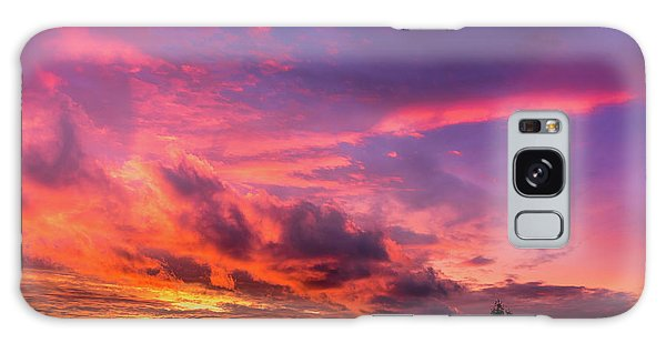 Galaxy Case featuring the photograph Clouds At Sunset by Onyonet  Photo Studios