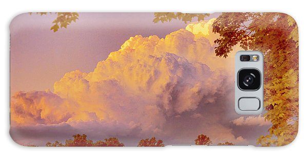 Clouds At Sunset, Southeastern Pennsylvania Galaxy Case