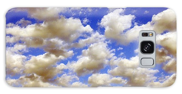 Clouds Blue Sky Galaxy Case by Jana Russon