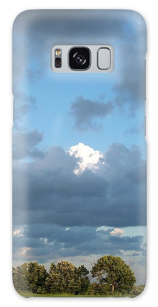 Clouds In A Bright Sky Galaxy Case