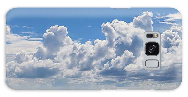 Clouds Over Catalina Island - Panorama Galaxy Case