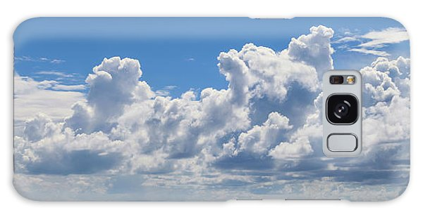 Clouds Over Catalina Island - Panorama Galaxy Case