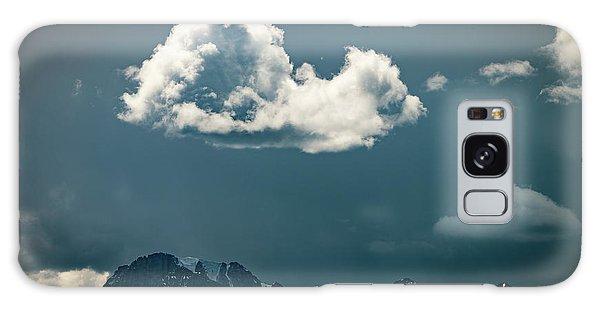 Clouds Over Glacier, Banff Np Galaxy Case