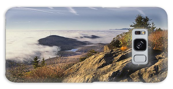Clouds Over Grandmother Mountain Galaxy Case