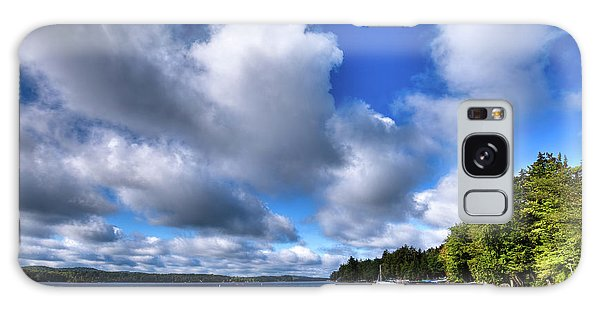 Galaxy Case featuring the photograph Clouds Over Palmer Point by David Patterson