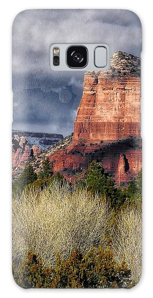 Clouds Over Sedona Galaxy Case