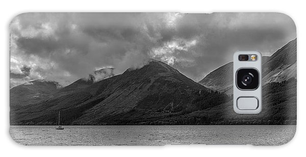 Clouds Over Loch Lochy, Scotland Galaxy Case