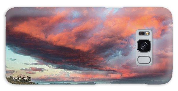Clouds Over Warner Springs Galaxy Case