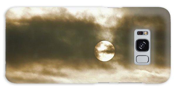 Cloudy Sun Galaxy Case