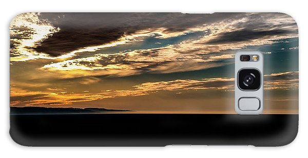 Cloudy Sunset Galaxy Case by Onyonet  Photo Studios