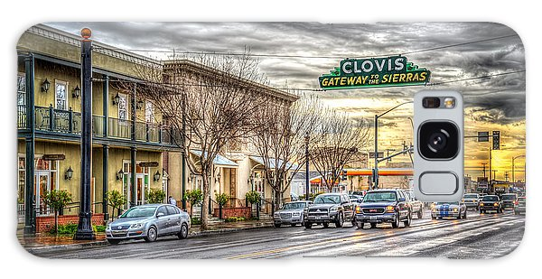 Clovis California Galaxy Case