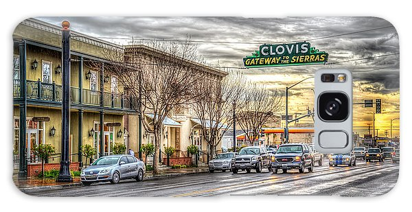 Clovis California Galaxy Case by Spencer McDonald