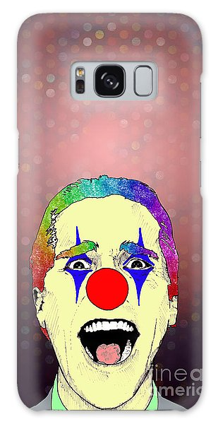clown Christian Bale Galaxy Case by Jason Tricktop Matthews