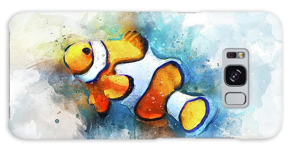 Reef Diving Galaxy Case - Clown Fish by Aged Pixel
