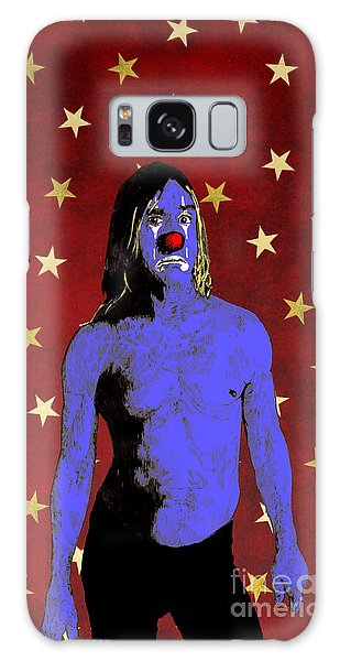 Clown Iggy Pop Galaxy Case by Jason Tricktop Matthews