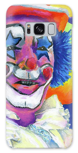 Clown With Balloons Galaxy Case