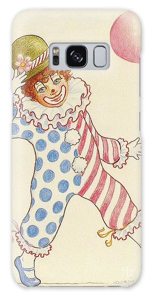 Clowning Around At The Kiddie Parade Galaxy Case by Dee Davis