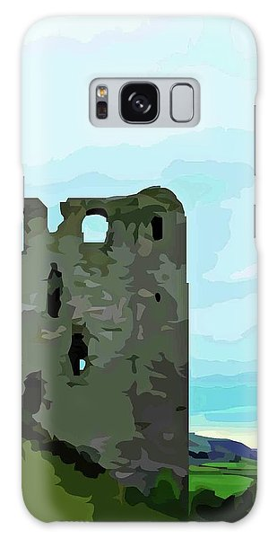 Clun Castle Galaxy Case