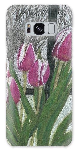 C'mon Spring Galaxy Case by Arlene Crafton