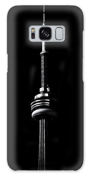 Galaxy Case featuring the photograph Cn Tower Toronto Canada No 1 by Brian Carson