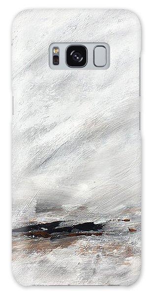 Coast #14 Ocean Landscape Original Fine Art Acrylic On Canvas Galaxy Case