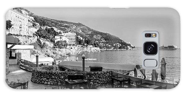 Coast Of Dubrovnik Galaxy Case