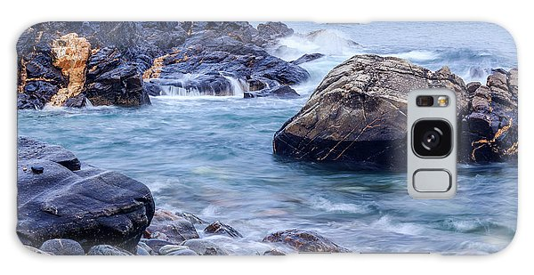Coast Of Maine In Autumn Galaxy Case