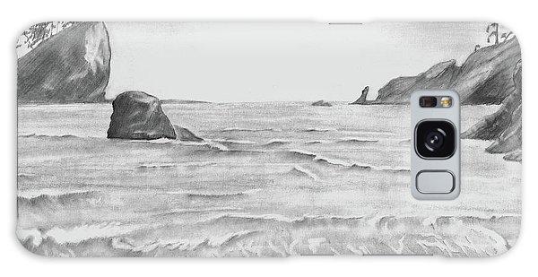 Coastal Beach Galaxy Case