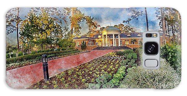 Coastal Carolina University Digital Watercolor Galaxy Case