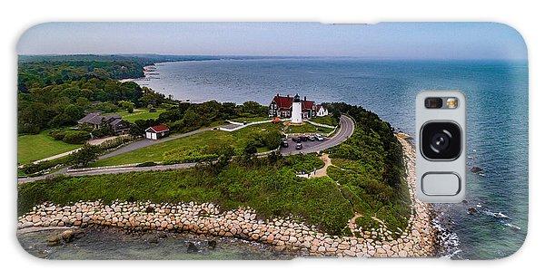 Coastal Nobska Point Lighthouse Galaxy Case