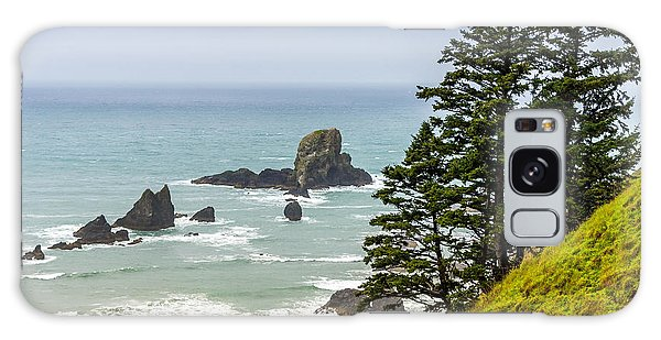 Coastal Scene Galaxy Case by Jerry Cahill