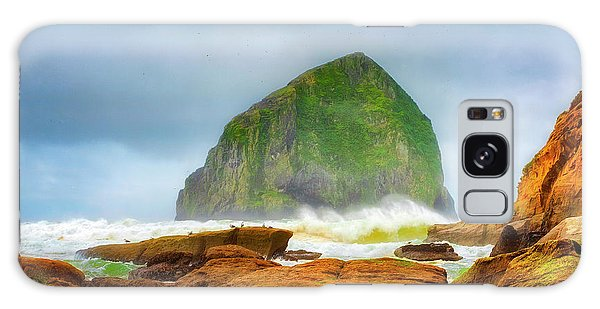Coastal Storm At Haystack Galaxy Case