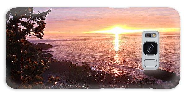 Coastal Sunrise Galaxy Case