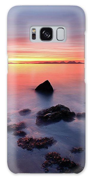 Galaxy Case featuring the photograph Coastal Sunset Kintyre by Grant Glendinning
