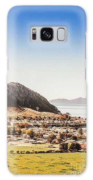 Seaside Galaxy Case - Coastal Tasmanian Town by Jorgo Photography - Wall Art Gallery