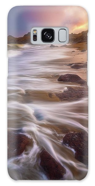 Galaxy Case featuring the photograph Coastal Whispers by Darren White