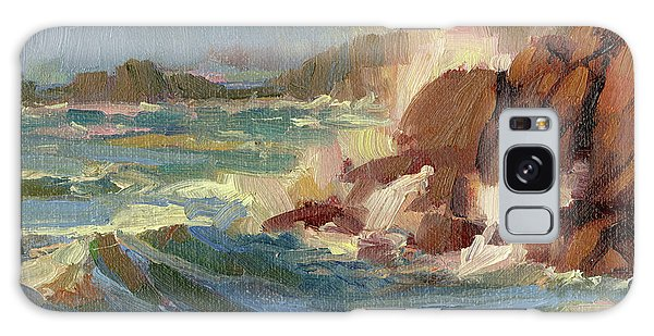 Tides Galaxy Case - Coastline by Steve Henderson