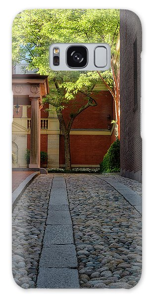 Galaxy Case featuring the photograph Cobblestone Drive by Michael Hubley