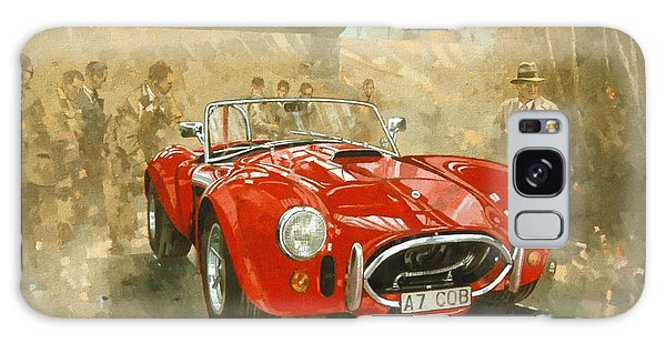 Car Galaxy S8 Case - Cobra At Brooklands by Peter Miller