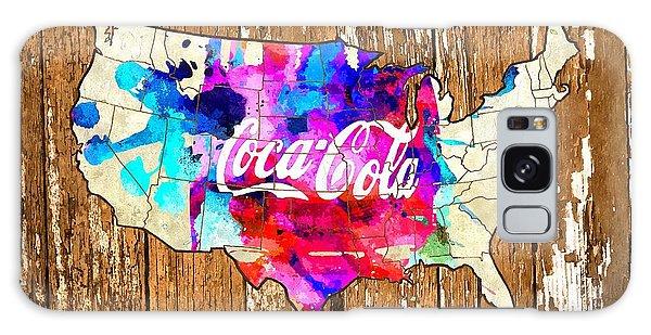 Coca Cola America Galaxy Case