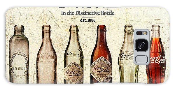 Coca-cola Bottle Evolution Vintage Sign Galaxy Case