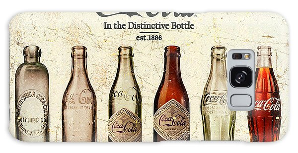 Coca-cola Bottle Evolution Vintage Sign Galaxy Case