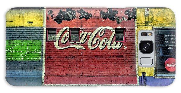 Coca-cola Building Galaxy Case