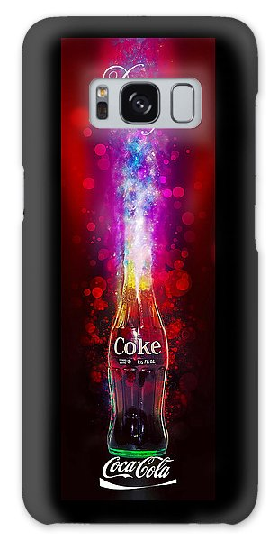 Galaxy Case featuring the photograph Coca-cola Dream Big by James Sage