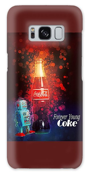 Galaxy Case featuring the photograph Coca-cola Forever Young 15 by James Sage